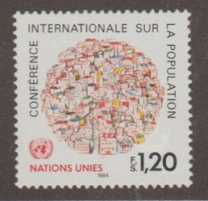United Nations - Offices in Geneva Scott #121 Stamp - Mint NH Single