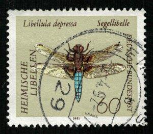 1991, Insects - Goldsmith, Deutsche Bundespost, 60 Pfg. (T-9612)