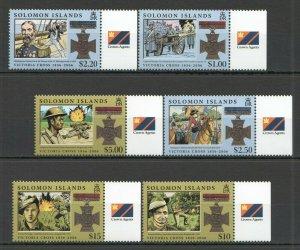 X0917 SOLOMON ISLANDS MILITARY & WAR ORDERS VICTORIA CROSS 1SET FIX