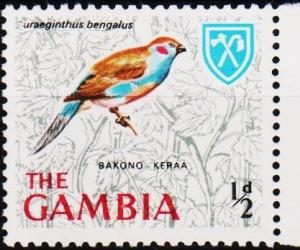 Gambia. 1966 1/2d S.G.233 Unmounted Mint