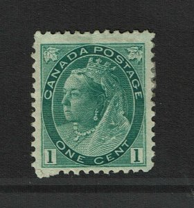 Canada SC# 75, Mint Hinged, Hinge Remnants, some gum dist - S11390