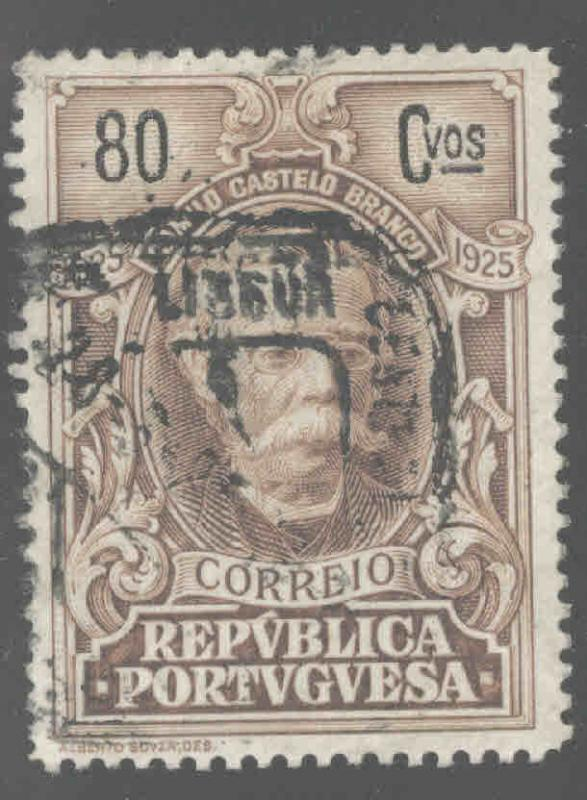 Portugal  Scott 364 Used from 1925 Branco set