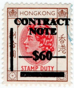 (I.B) Hong Kong Revenue : Contract Note $60 on $80 OP