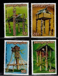PNG Papua New Guinea Scott 616-619 MNH** set
