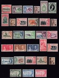DOMINICA - 48 Different - Mostly Older/Classic Issues