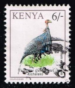 Kenya #601A Vulturine Guineafowl; Used (1.00)