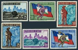 Haiti 448-450,C145-C147,MNH.Michel 580-585. Pan American Games,1959.