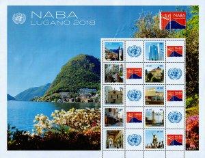 United Nations - Geneva Scott 652 (2018) NABA Lugano Mint NH VF C