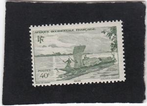 French West Africa #38  unused