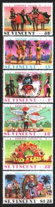 Saint Vincent and the Grenadines. 1975. 377-82. Carnival in the Caribbean. MNH.