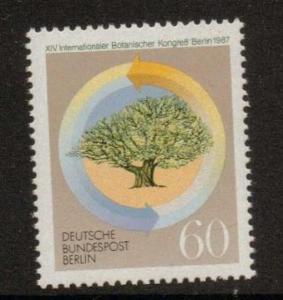 GERMANY SGB771 1987 INT BOTANICAL CONGRESS MNH