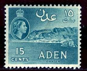 Aden; 1953; Sc. # 50; */MH Single Stamp