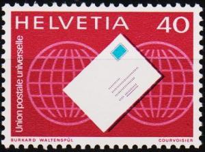 Switzerland.1976 40c S.G.LP10 Unmounted Mint