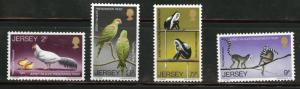 Jersey Scott 49-52 MNH** but faulty stamp set