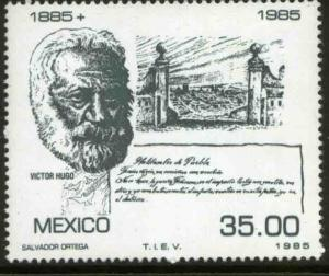 MEXICO 1381, Centenary of the death of Victor Hugo. MINT, NH, F-VF.