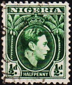Nigeria. 1938 1/2d S.G.49  Fine Used