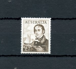 #379 SUPERB CENTRE AUSTRALIA • 1964 • £2 Navigator • Philip King •  MLH * Mint
