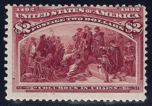 U.S. 242 Mint F-VF (1124)