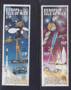 Isle of Man # 468-471, Europa, Space, NH, 1/2 Cat