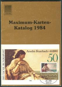 GERMANY MAXIMUM CARDS 1984 CATALOG