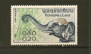Laos 42 Elephant Mint Hinged