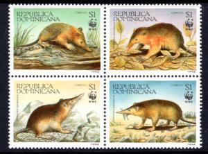 Dominican Republic 1158 Mammals MNH VF