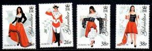 Gibraltar MNH 760-3 Europa National Day 1998