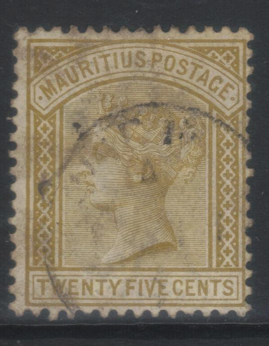 MAURITIUS 1883-1894 CROWN CA SG110 USED