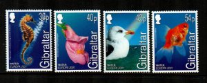 Gibraltar 2001   Europa  Set  -MNH  # 871-874