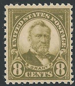 Scott 560, Original gum, 1922 Regular Issue