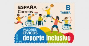 2021 Spain Inclusive Sports (Scott NA) MNH