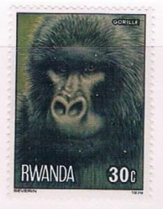 Rwanda 858 MNH Gorilla 1978 (R0569)