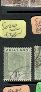 ZULULAND  (PP2305B)  QV  1/-   SG 26       VFU