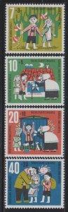 Germany,  Hansel and Gretel (SC# B376-B379) MNH SET