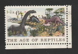 SC# 1390 - (6c) - Natural History, Reptiles, used  single