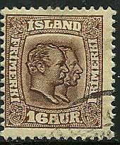 Iceland # 78, Used. CV $ 40.00