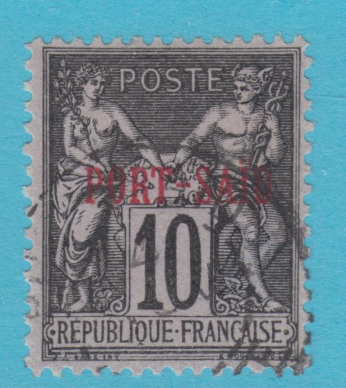 French Offices: PORT SAID 6 1899  NO FAULTS EXTRA FINE !