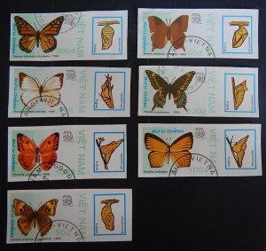Vietnam, Butterflies, (2278-Т)