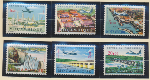 Mozambique Stamps Scott #C29 To C34, Mint Hinged - Free U.S. Shipping, Free W...