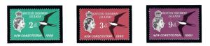Solomon Is 106-08 MNH 1961 New Constitution