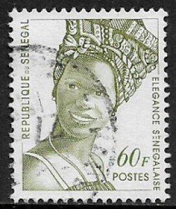 Senegal #1251 Used Stamp - Senegalese Fashion