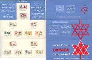 Canada - 1967 Centennial Year Souvenir Card