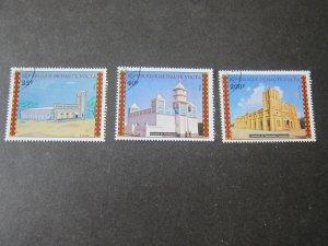 Burkina Faso 1973 Sc 307-8,C173 Christmas Religion set FU