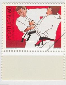 51062 a - PORTUGAL - OLYMPIC GAMES 1988 - SPECIMEN STAMP: Judo