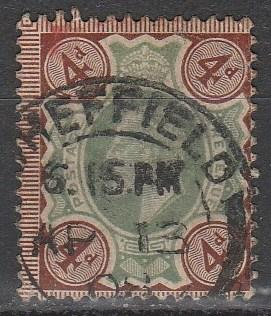 Great Britain #133 F-VF Used CV $35.00  (A3003)