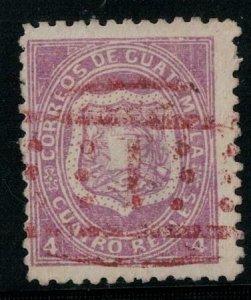 Guatemala 1873 SC 5 Used