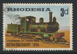 Rhodesia   SG 431  SC# 267   Used Steam Trains see details