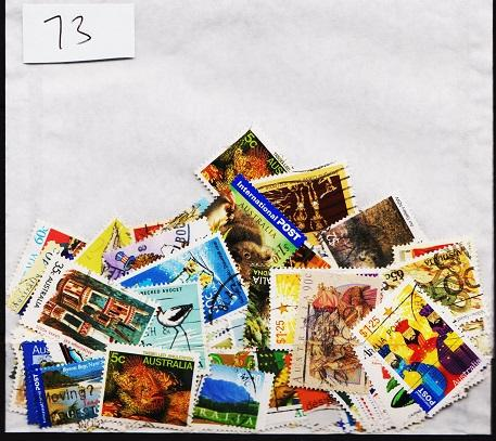 Australia. Mixture. 100 stamps. May be some duplication.Fine Used