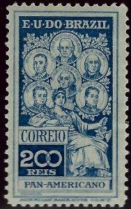 Brazil SC#191 Mint F-VF hr SCV$13.50...Brazil is Hot!!