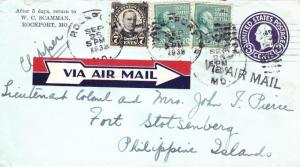 1938, Pacific Clipper Flt., Rockport, OR to Fort Stotenberg, PI (21407)